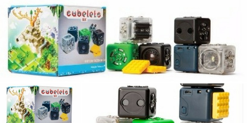 Cubelets Robotics Starter: Oneof the best science kits that are great for kindergarten kids.