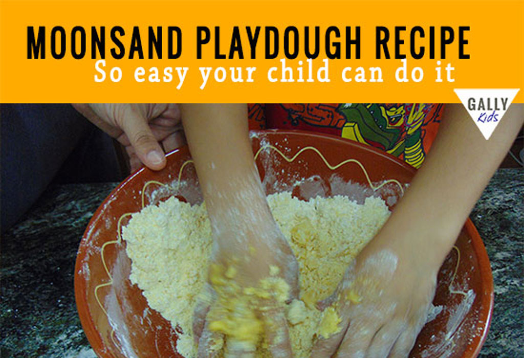 Moon Sand Recipe With Vegetable Oil
