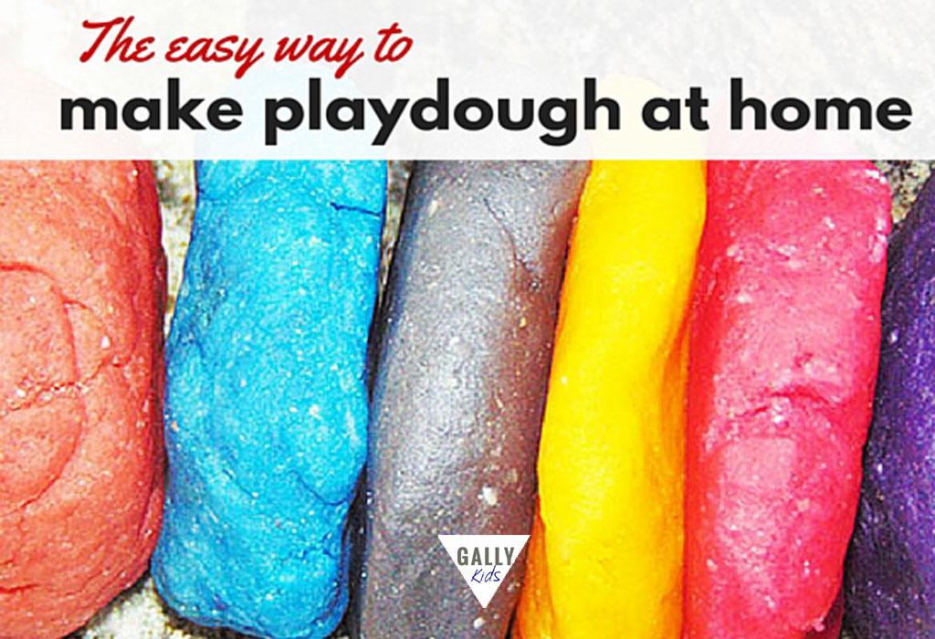 Easy Way To Make Playdough At Home