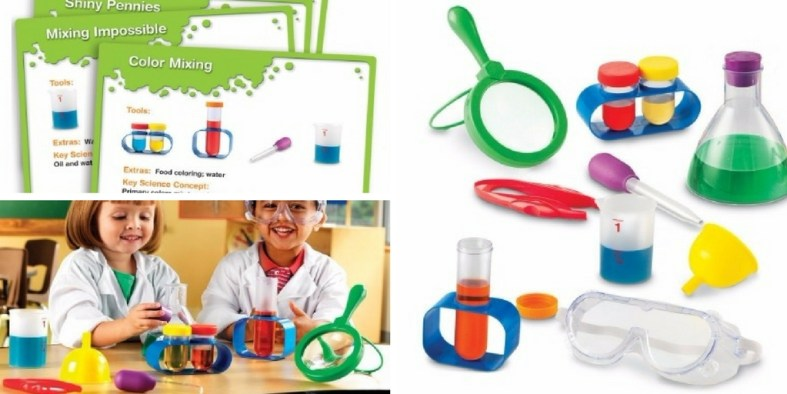 Learning Resources Primary Science Lab Set: One of the best science experiment kits for young kids.