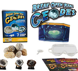 Break Open Geode Kit for kids