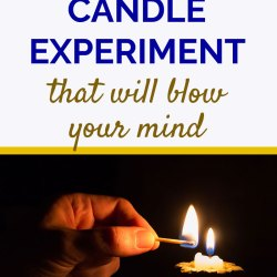 The Underwater Candle Experiment That You Would Like To Do With Your Kids