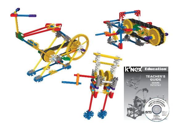 Knex Intro To Simple Machines kit - start with the basics with this intro to simple machines kit.