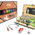Piper Computer Kit. Handcrafted wooden computer. For older kids. They get to make their own computer and play minecraft on it too.