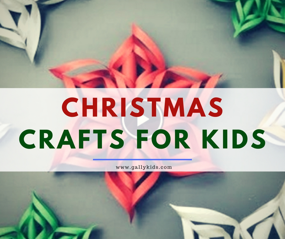 10 Super Easy Christmas Crafts For Kids [With Video Instructions]