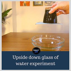 (Glass Or Cup) Upside Down Water Experiment : An Amazing Science Trick!