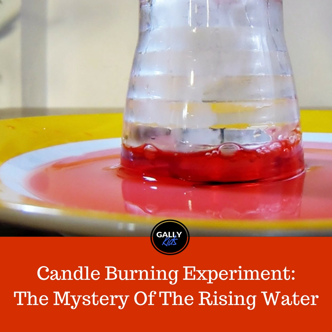 """Burning Candle Experiment With Water: Watch The Smokey Glass """"Suck"""" Water In!"""