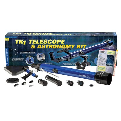 Telescope and Astronomy science kit for kids - A good investment for kids who are into astronomy. This is for older teens and is a fully functional telescope.