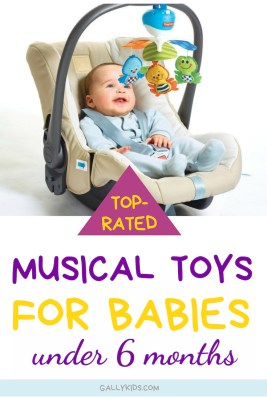 Best Musical baby toys that are perfect for infants 0-6 months. Loads of ideas for soft musical toys for babies