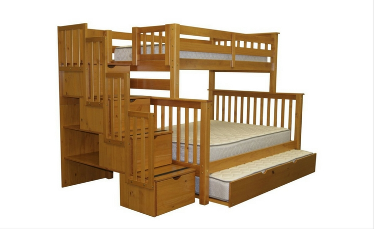 The Best Bunk Beds With Stairs And Storage That Make Bedrooms