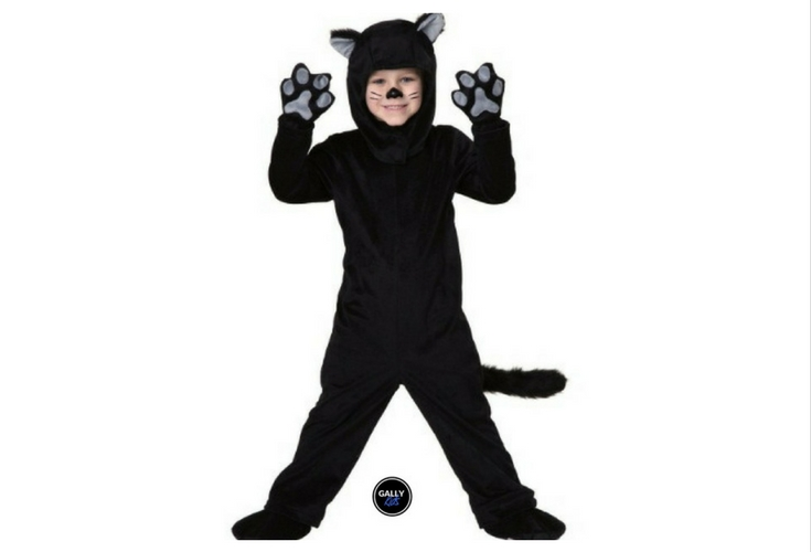 Sizes 18 months 2t u0026 4T are available for this cute black cat costume  sc 1 st  Gally Kids & Kids Cat Halloween Costumes That Look So Adorable And Catty!