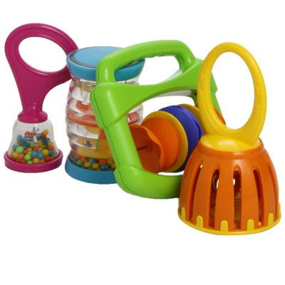 Hohner 4-Piece Baby Band. Award-winning toy. Musical instruments for babies.