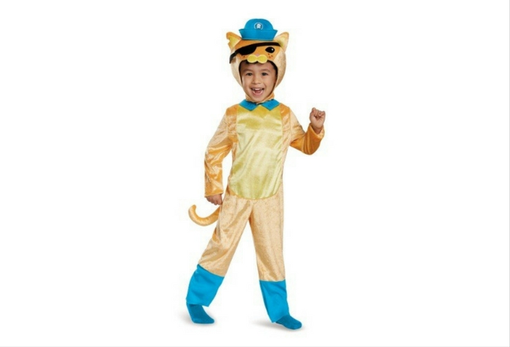 Ahoy there mateys! There's no better pirate cat than Kwazii himself from the Octonauts. Is your child a fan? Here's a realistic and cute costume for Halloween!