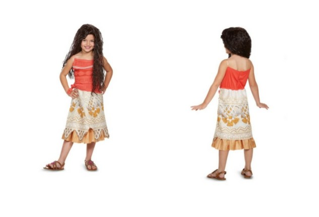 Unofficial moana costume. Just as nice with toddler sizes