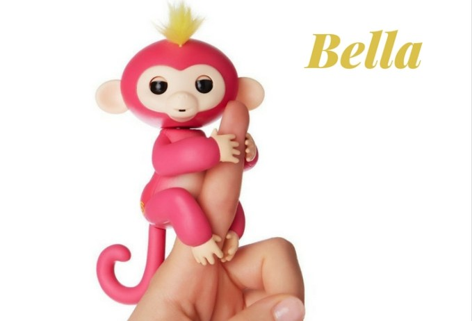 Bella Fingerling Toy. Loves cute monkey babbles. An electronic pet monkey kids love to play with.