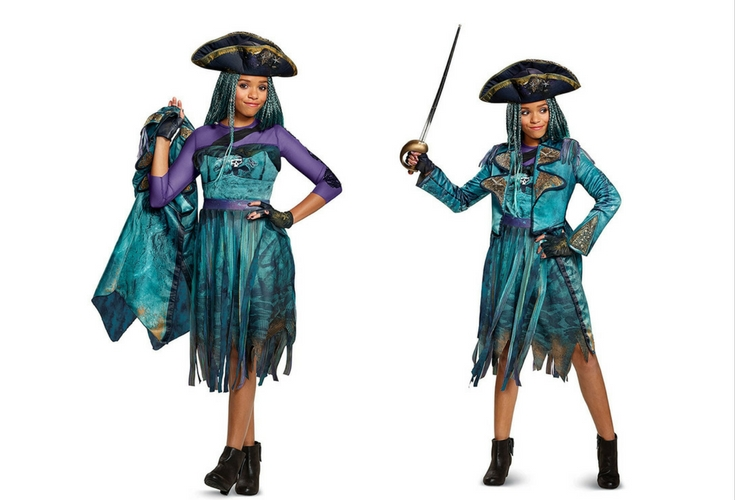 Complete set you only have to add the boots. Includes dress jacket gloves  sc 1 st  Gally Kids & This Is How You Do A Descendants 2 Uma Costume [+ DIY Instructions]
