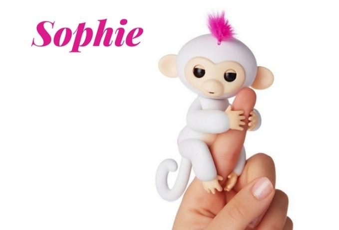 Sophie Fingerling Toy. A robotic toy full of loving hugs.