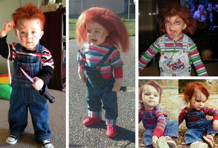 Toddler chucky Costume do it yourself with these instructions.  sc 1 st  Gally Kids & How To Do A Toddler Chucky Costume: DIY + Costume Ideas