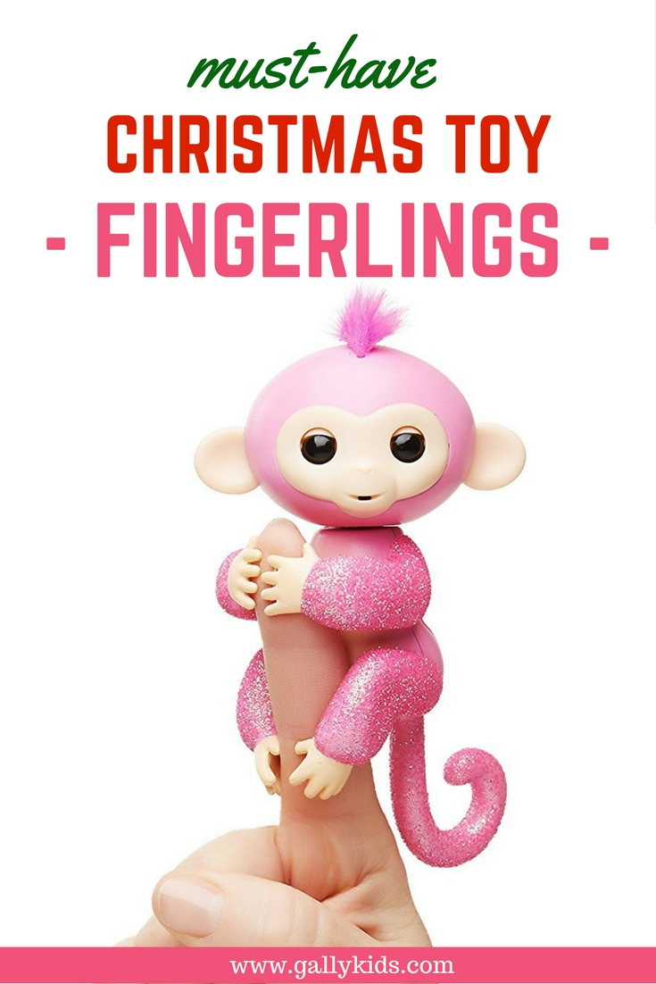 Fingerlings toys- This is Fingerling glitter monkey, a monkey full of glitter and exclusively sold at Amazon.