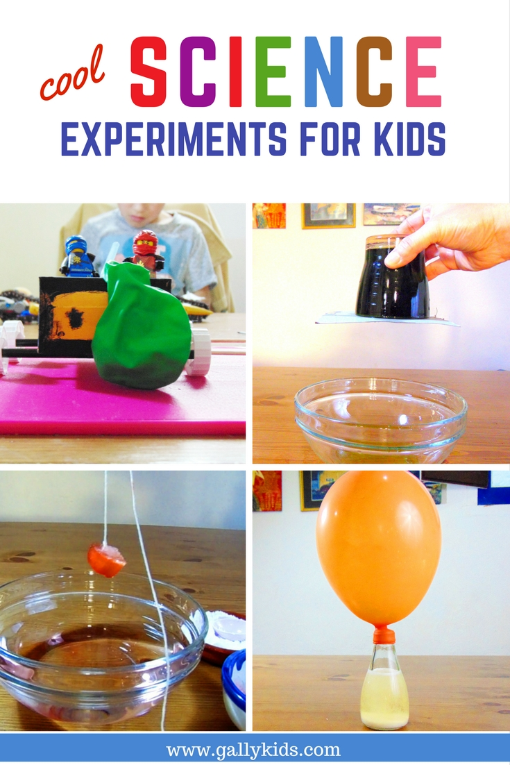 A list of the coolest experiments you can do at home. Be they experiments with water, with electricity and more. Includes video instructions too.
