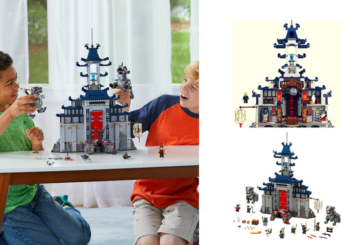 One of the cool Lego sets based on the Ninjago movie. Kids love this.
