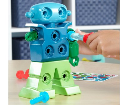 Educational Insights Design and drill a robot. a fun robot toy kit for toddlers who like to build and tinker things.