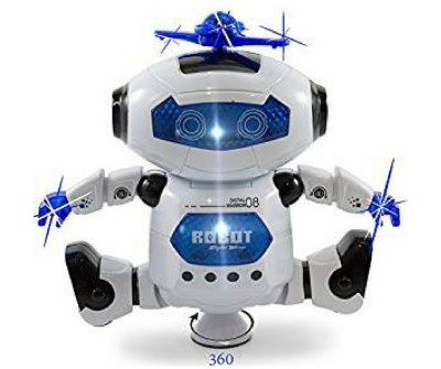 Kidsthrill Dancing Robot. Affordable robot toy. Everything a toddler wants from a robot! Lights, music and dance moves.