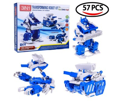 Take Apart DIY Robot kit. This is not an electronic toy but is a great building toy.  Very highly rated and affordable too.