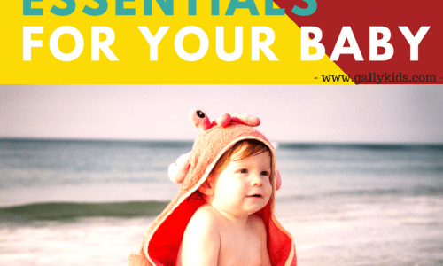 Beach Must Haves For Baby: Tips For Baby's Day Out