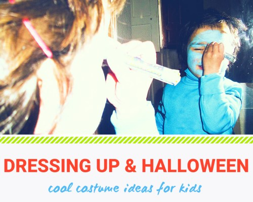 Dressing Up Costumes And Halloween