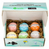 Bath bombs for kids with toy inside