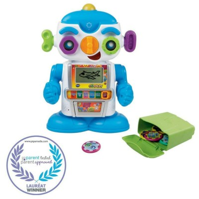 A fun way for kids to learn basic stuff like alphabets, numbers and more.. Award wining robot toy