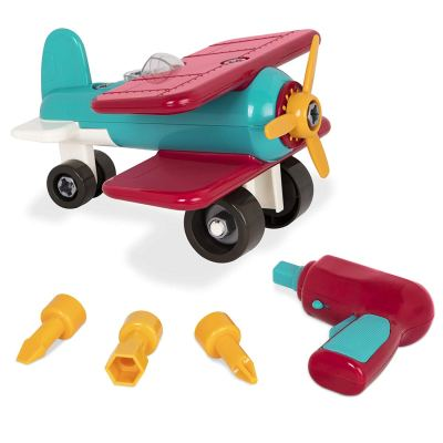 """A toy that kids can take apart and play with at the same time. They learn how to put a """"puzzle"""" together and then when done, play with it too! perfect for kids who love cars, trucks planes and all types of transportation."""