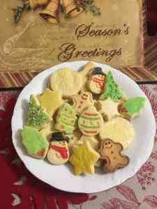 image Μπισκότα εορταστικά