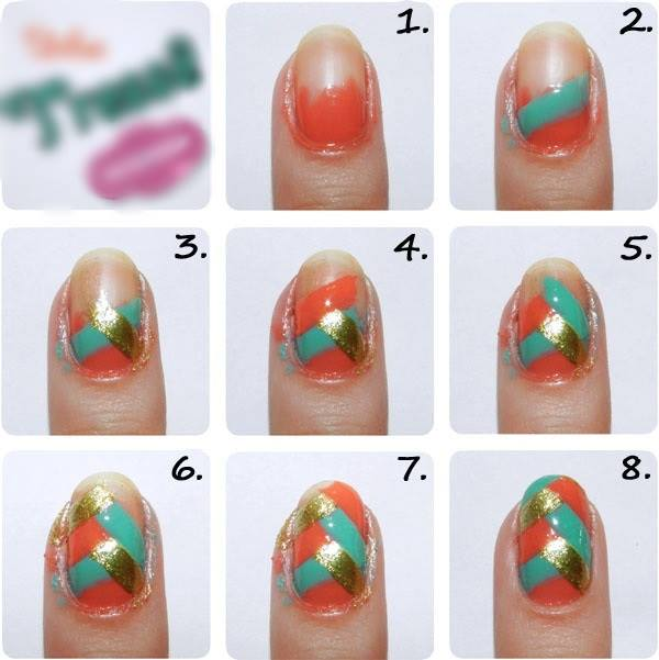 Step By Nail Art Picture Tutorial Best And Easy Designs To Try 19