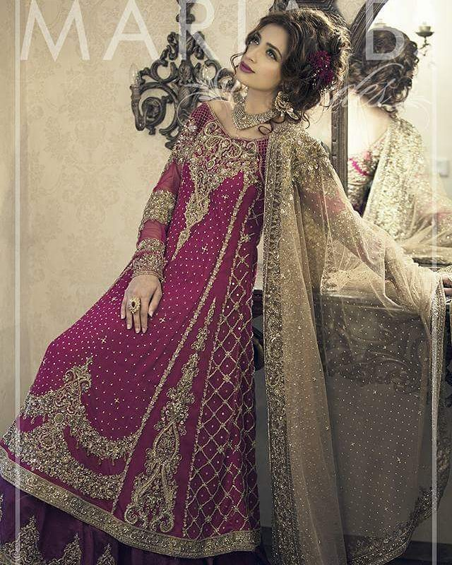 Maria B Bridal Dresses Collection 2017 2018 For Wedding Brides