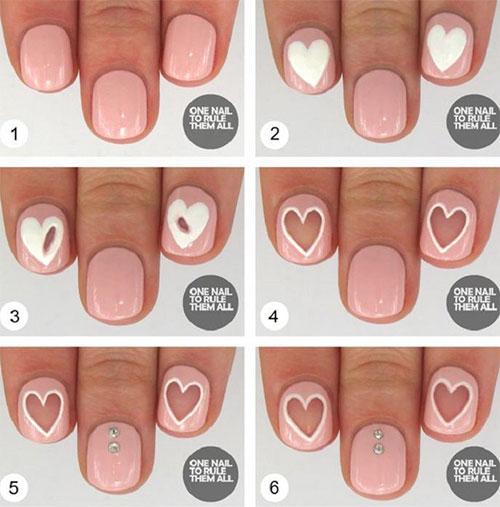 Easy Diy Nail Designs Step By