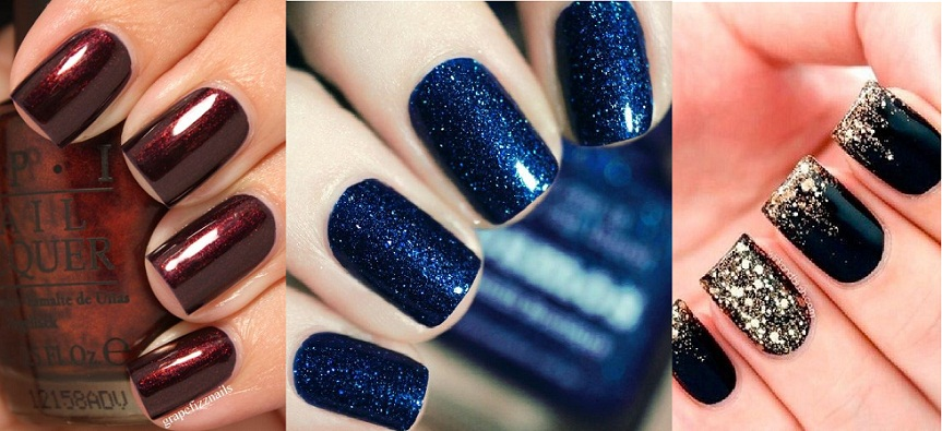 Top 10 Best Fall Winter Nail Colors 2017 2018 Ideas Trends