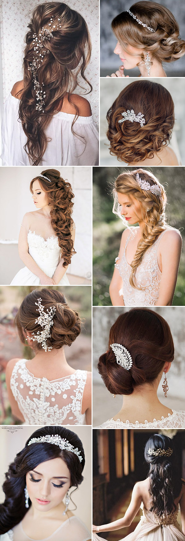 bride hair 2018 – fashion dresses