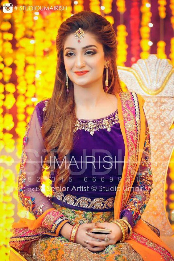 Best Amp Latest Bridal Mehndi Dresses Designs Collection