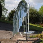 Wings of Cradley Sculpture - Luke Perry