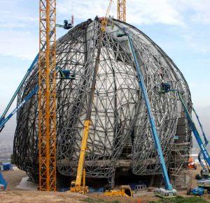 steel-frame-building