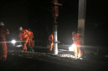 Crossrail West Gantries, London - Global Rail Construction