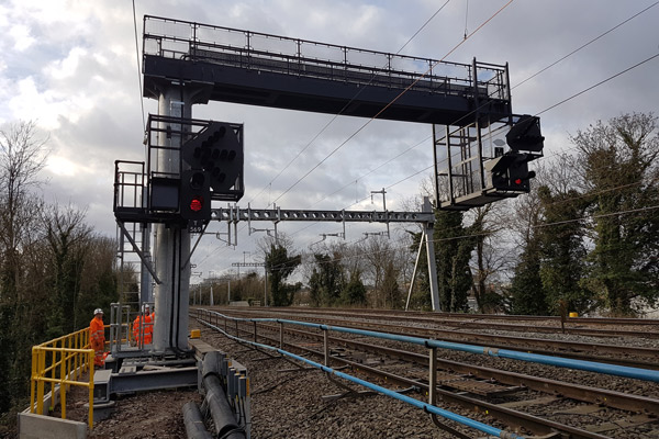 Crossrail West Gantries London Global Rail Construction