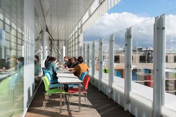 Sainsbury Wellcome Centre, London - Ian Ritchie Architects