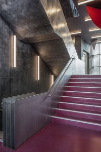 Galvanized Theatre Stairs