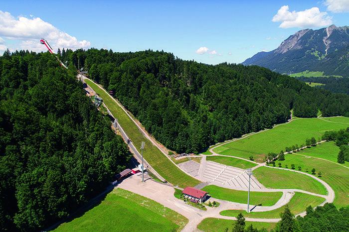 Heini-Klopfer ski jump in Oberstdorf