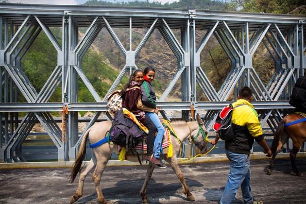 galvanized bridge in india