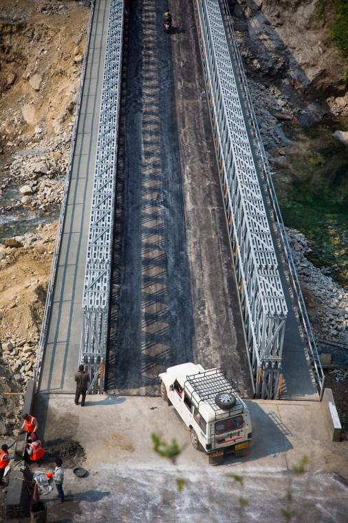 Sonprayag Bridge in India