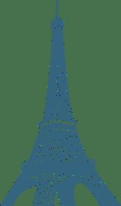 Reduce Carbon Eiffel Tower